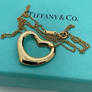 Tiffany & Co.18 KT Peretti Spain Heart 22mm 16'